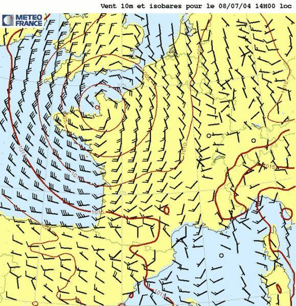 Le vent synoptique (X)   Culture Maritime